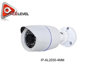 AceLevel Premium 1.3MP 720P Bullet Camera - IP-AL2030-4MM IP CAMERA, 1.3MP, CMOS, Bullet, PoE, HD, Night Vison