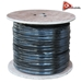 AceLevel 1000ft RG59 Siamese Cable for Surveillance Cameras Video/Power 95% (Black) - CAB-RG59/1000B