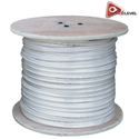 AceLevel 1000ft RG59 Siamese Cable for Surveillance Cameras Video/Power 95% (White) CCTV Cable, Cable for CCTV Security Cameras, Siamese Cable, Video and Power Cable, RG59 Cable