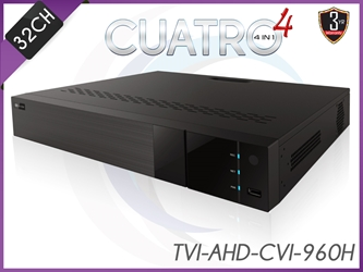 AceLevel 32 Channel DVR: Dual Stream, SATAx4 up to 10TB Each, 4 IN 1 , H.264 Compression, Mobile Surveillance acelevel, 32, channel, nvr, dual stream, sata, pentaplex, no hard drive