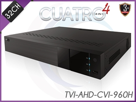 AceLevel 32 Channel DVR: Dual Stream, SATAx4 up to 10TB Each, 4 IN 1 , H.264 Compression, Mobile Surveillance