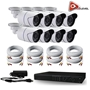 AceLevel 16 Channel HD AHD DVR Kit with 8 x Bullet Cameras and 2TB Acelevel, 16, Channel, HD, AHD, DVR, Kit, 2TB, Bullet, Camera, Cameras