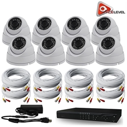 Acelevel 16 Channel HD AHD Kit with 8 x 720P Dome Cameras and 2TB Acelevel, 16, Sixteen, Channel, HD, AHD, DVR, Kit, 2TB, Dome, Cameras, Camera