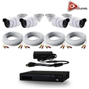 AceLevel 4 Channel HD AHD DVR Kit with 4 x 720p Bullet Cameras and 1TB Acelevel, 4, Four, Channel, HD, AHD, DVR, Kit, Bullet, Camera, Cameras