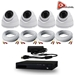 AceLevel 4 Channel HD AHD DVR Kit with 4 x 720p Dome Cameras and 1TB - SET-DVR-4CH3-TYA-4D