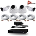 AceLevel 4 Channel HD AHD Kit with 2 x 720P Bullets Cameras, 2 x 720P Dome Cameras, and 1TB - SET-DVR-4CH3-TYA-2B2D