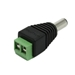 2.1 x 5.5mm Male Jack DC Power Adapter for CCTV Cameras - CON-MPA