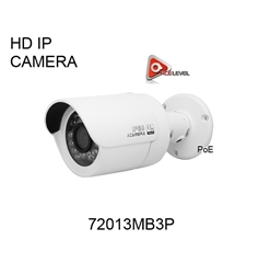 AceLevel Premium 1.3MP 720P HD IP Bullet Camera - 72013MB3P IP CAMERA, 720P, 1.3MP, 25IRs, NIGHT VISION IP BULLET HD CAMERA