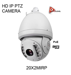 AceLevel HD IP PTZ Camera with 20 x ZOOM - 20X2MIRP 20X HD CAMERA, IP CAMERA, PTZ CAMERA, 14IRs, IRs PTZ