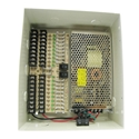 18 Camera Power 12 Amps Power Distribution Panel UL 18 Camera Power, 12 Amps, Power Distribution Panel, Power Box, UL Listed, CCTV Installation power box