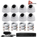 AceLevel 8 Channel HD AHD DVR Kit with 8 x 1080P Night Vision Weatherproof Dome Cameras and 1TB Acelevel, 8, Channel, HD, AHD, DVR, Kit, 1080P, Night, Vision, Weatherproof, Dome, Cameras, 1TB
