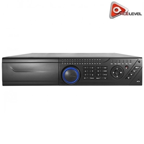 AceLevel 32 Channel NVR: 16xPoE, 8xSATA up to 6TB Each, 4 Channel Playback, 3MP@30fps, 2U Case, ONVIF