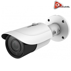 AceLevel HD IP Bullet Camera: 5MP, 3.6-10mm Vari-Focal Lens, 2D/3D DNR, microSD Slot, IP66, StarLight, H.265