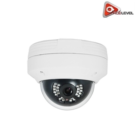AceLevel HD IP Camera: 4MP, 3.6mm Fixed Lens, Digital Wide Dynamic Range, 3D Noise Reduction, IP66/IK10, 24 IR LEDs, H.265