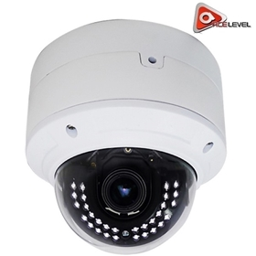 AceLevel HD IP Camera: 5MP, 3.6-10mm Vari-Focal Lens, microSD Slot, WDR, 2D/3D DNR, IP66, IK10, H.265